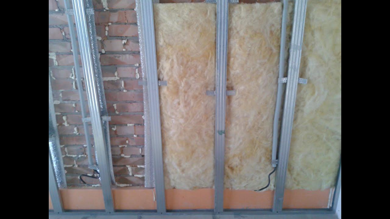Стены из гипсокартона своими руками : обшивка, строительство перегородки