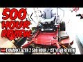 Exmark Lawn Mower Lazer Z X Series 500 Hour Review | How Has It Held Up? The Good And Bad