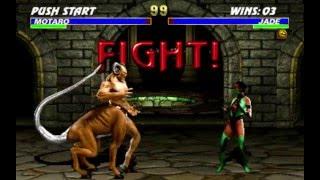 Ultimate Mortal Kombat 3 JADE Gameplay (PC)