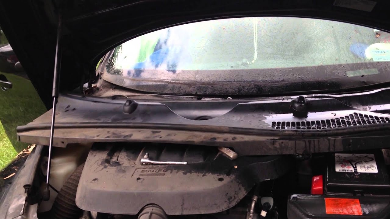 Chevy HHR Windshield Cowl Removal YouTube