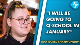 Beau Greaves CONFIRMS Q-School entry after record breaking win at BDO World Championship