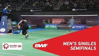 SF | MS | CHOU Tien Chen (TPE) [1] vs. Jonatan CHRISTIE (INA) [3] | BWF 2019