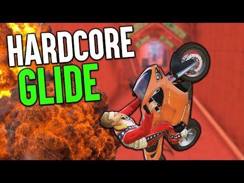 Der SCHWIERIGSTE Hindernis GLIDE   GTA 5 Online