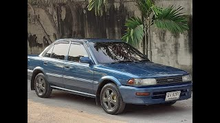 Toyota โดเรมอน ไม่ถึง 3 หมื่นบาท รถครอบครัวบ้านๆ เกียร์ออโต้ เปลี่ยนนิ่มๆ ช่วงล่างดี ฿29,000 สีสวย