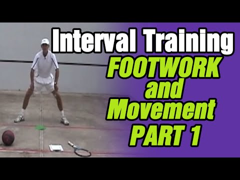 Tennis- Improving Footwork And Movement ( Part 1 Interval Training) |Tom Avery Tennis 239.592.5920
