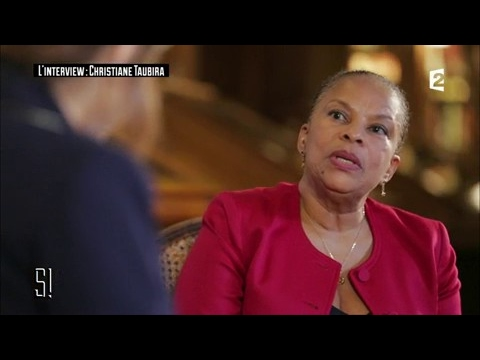L'interview : Christiane Taubira - Stupéfiant !
