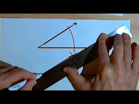 Basic Geometric Constructions - copying line segments, angles and triangles 128-2.18