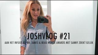 JOSHVLOG #21   AAN HET INFUUS BIJ DR. JAMES