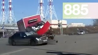 Car Crash Compilation 885 - March 2017