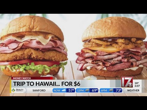 Crash Mornings - Arby's Is Offering $6 Flights to Hawaii Today, But There's A Catch