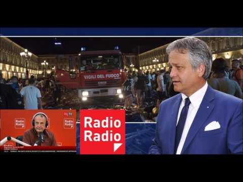 L'assurdo incidente in piazza a Torino. Tonelli a Radio Radio