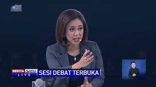 Sesi Debat Terbuka Ma'ruf Amin dan Sandiaga Uno