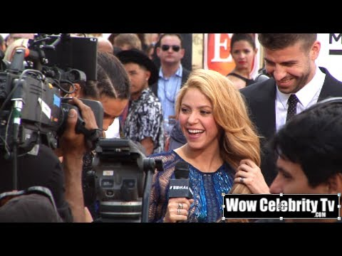 Shakira arrives to the 2014 Billboard Music Awards in Las Vegas