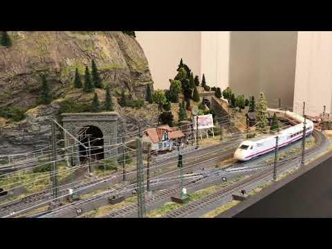 David's Finished Marklin HO Railroad