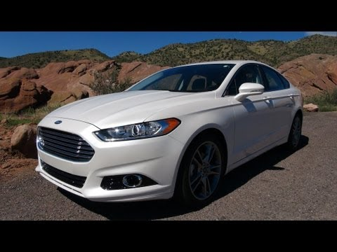 2013 Ford Fusion Titanium Drive Amp 0 60 Mph Review Youtube