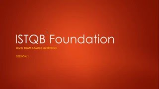 istqb foundation exam sample questions session 1