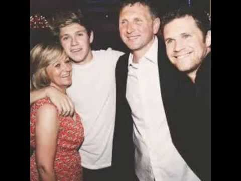 Niall Horan and his family - YouTube
