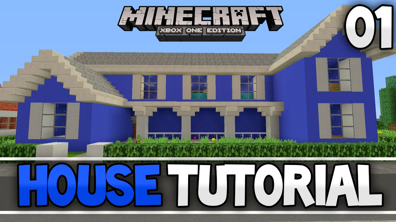 Minecraft Simple Traditional House Tutorial Part 1  Xbox 360   Ps3  Xbox One  Ps4