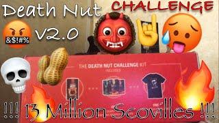 The NEW Death Nut Challenge v2.0 [ Blazing Foods ] !!! 13 MILLION SCOVILLES !!! #deathnuts  - MrMaD