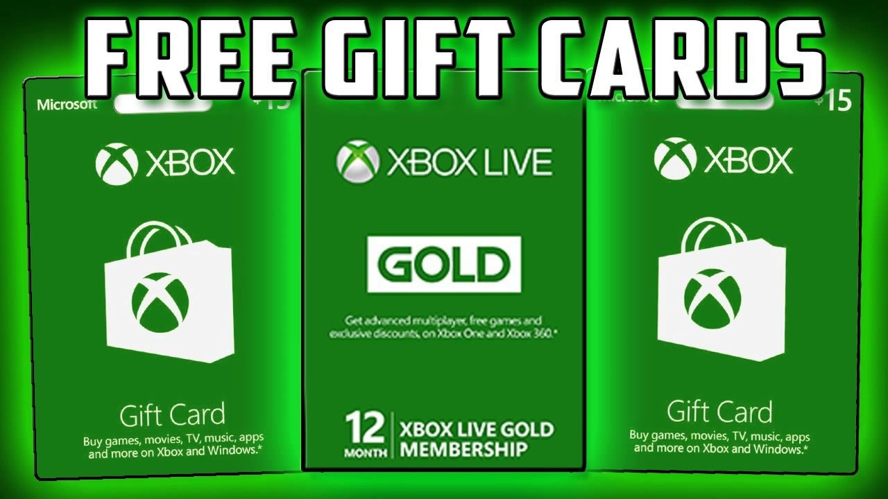 Xbox live codes giveaways