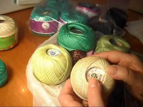 товары для вязания ирландских кружев мои покупки Youtube