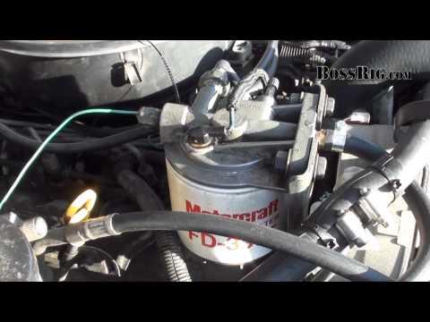 Fuel Pump Diagnosis & Fix Part 1/2 - Diesel IDI Ford - Electric vs. Mechanical