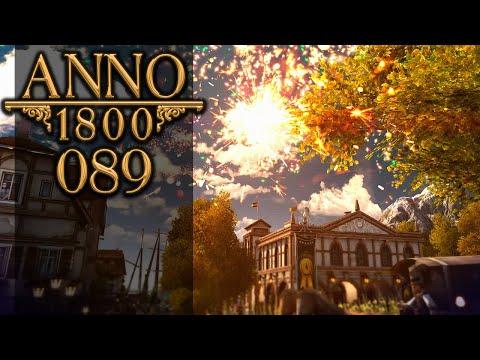 ANNO 1800 🏛 089: Ein Feuerwerk der Unterhaltung