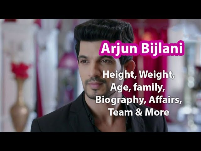 Arjun Bijlani Height,Weight,Age,Family,Salary,Wife and more