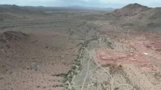DJI Phantom 4 Drone Fly Over the Harquahala's. An old Mining Town!