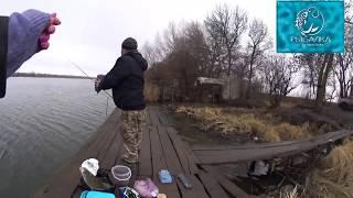 Первая рыбалка 2020 Река Днестр