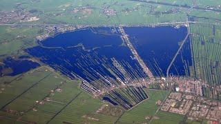 Как появились странные Винкевенские озера в Нидерландах? Сотни частных островов в одном месте.