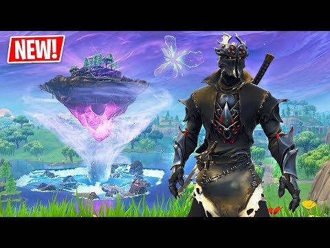 *NEW* Fortnite FLOATING ISLAND Event! Water Tornado Vortex & Energy Beam!