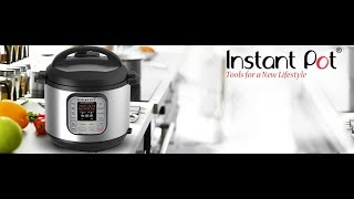 Instant Pot DUO80 7 in 1 Multi Use Programmable Pressure Cooker, 8 Quart 1200W