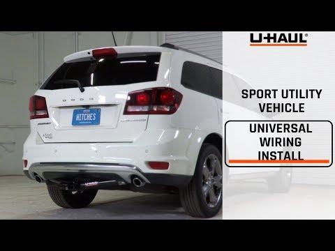 SUV Universal Trailer Wiring Harness Installation Guide