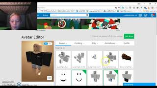 HACKING MY FRIENDS ACOUNT (roblox main page)