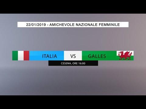Amichevole, Nazionale Femminile: Italia vs Galles (Live) - 16:00 thumbnail