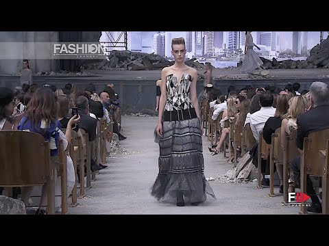 KARL LAGERFELD - CHANEL Interview Haute Couture Fall 2013 Paris - Fashion Channel