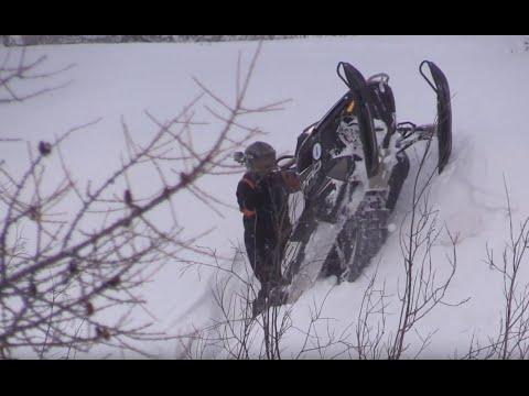 Покатушка на снегоходах,Салехард 15 февраля 2015 -Часть1.Гладиаторы Арктики GA 02152015