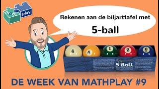REKENEN AAN DE BILJARTTAFEL MET 5-BALL - DWVM#9