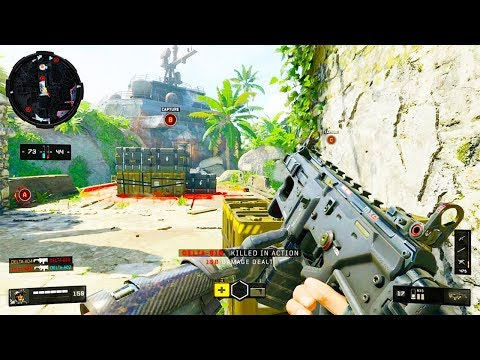 Black Ops 4: Multiplayer Gameplay - NEW MODE - Control w/ Firebreak Specialist