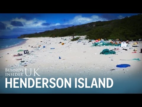 Henderson Island has nearly 40 million pieces of plastic waste - here