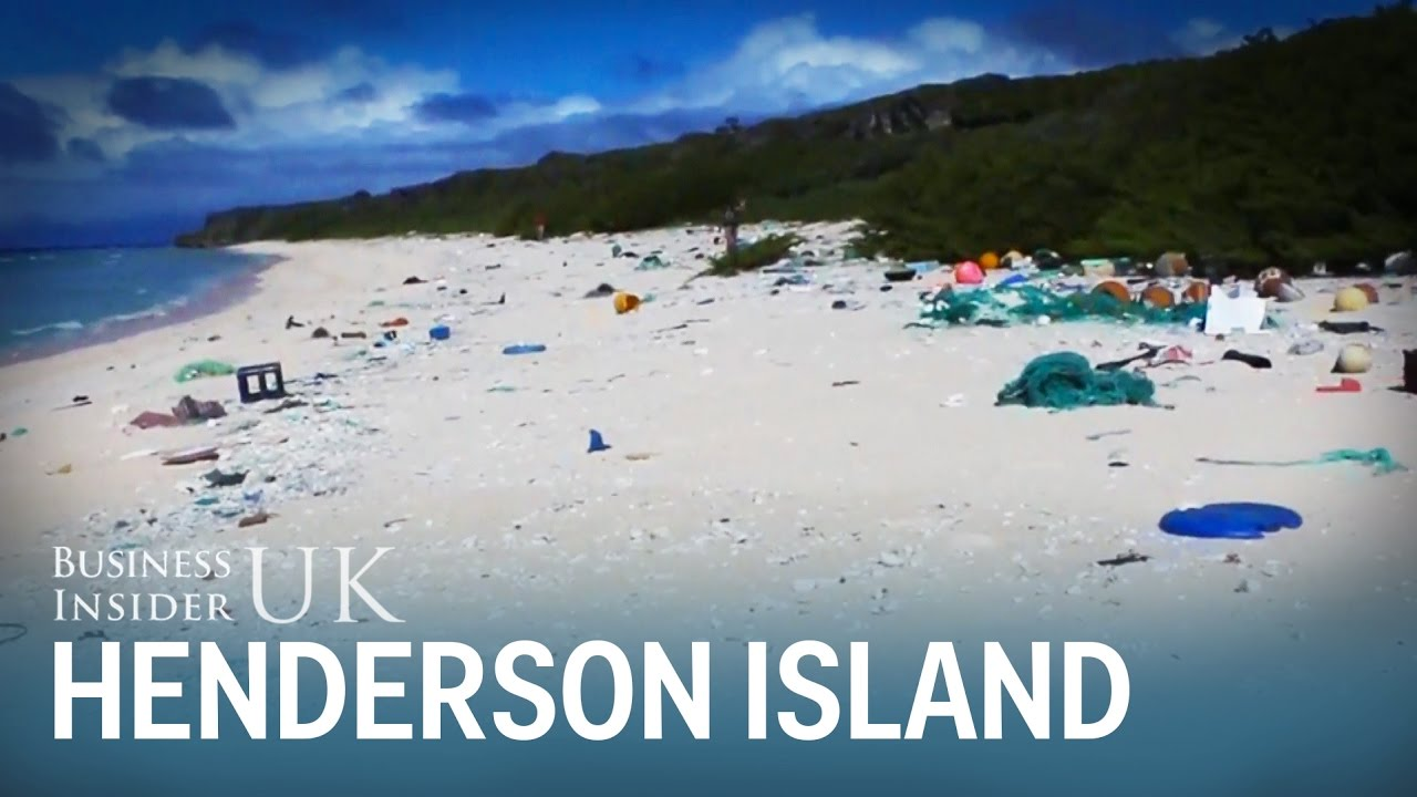 Henderson Island has nearly 40 million pieces of plastic waste - here's what it's like