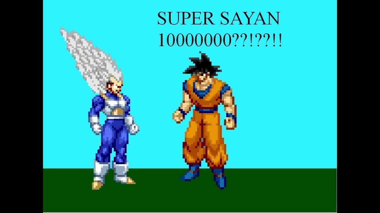 Vegeta is a super saiyan 10000000 youtube - Super sayen 10000 ...