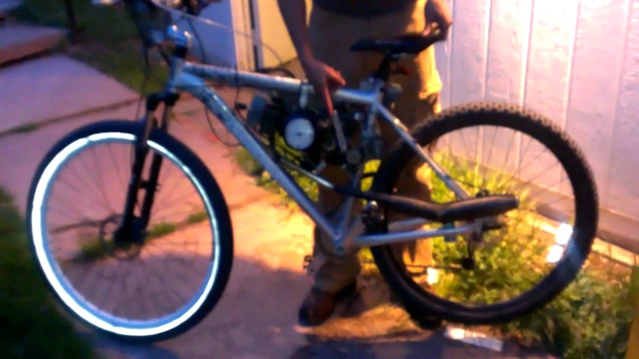 29Er Mountain Bike >> Motor bicycle, 50cc, 29er, 16 speed, jr50, sickbikeparts ...