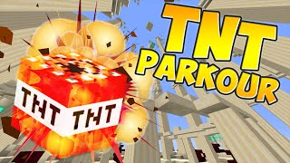 """EPIC TNT EXPLOSION PARKOUR!"" 