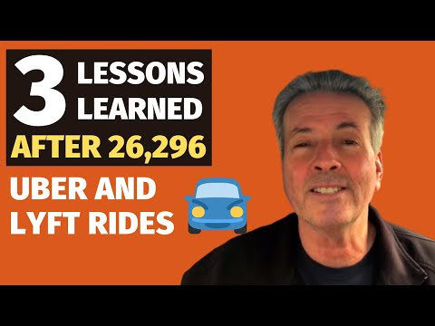 3 Lessons Learned After 26,296 Uber And Lyft Rides