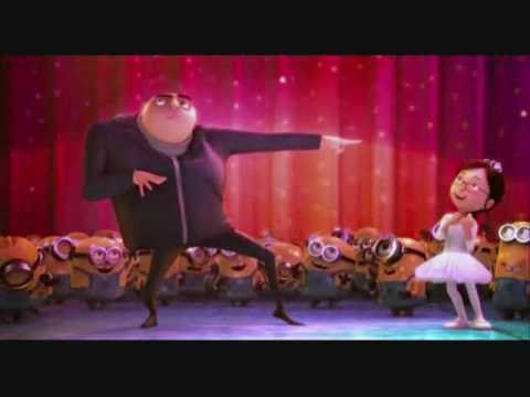 Gru's Dance from Despicable Me - YouTube