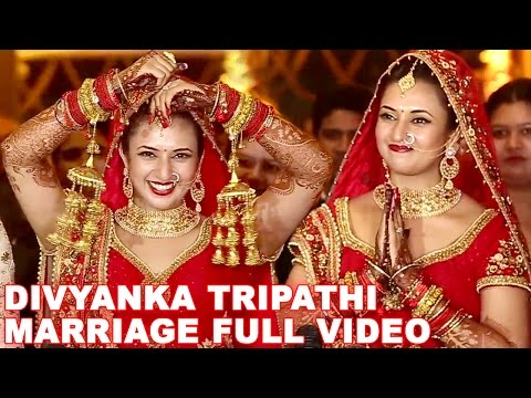 Divyanka Tripathi Wedding | FULL VIDEO | Divyanka Tripathi & Vivek Dahiya Marriage Video