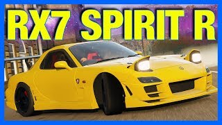 Forza Horizon 4 Customization : Mazda RX7 Spirit R Drift Build!!