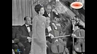 Um Kolthoum -  Al Atlal  - Tunisia 1968 (kabh01) (High quality - different shooting)